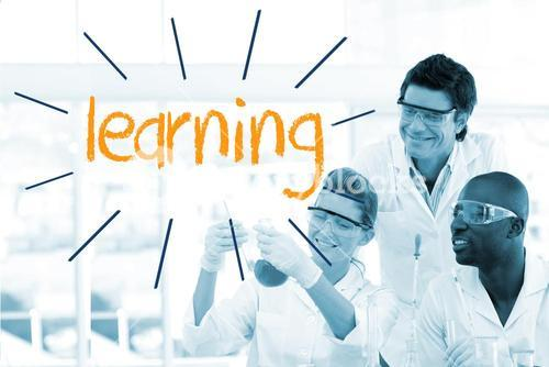 Learning against scientists working in laboratory