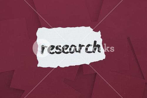 Research against digitally generated wine paper strewn