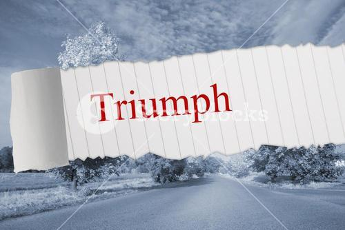 Triumph against warped road