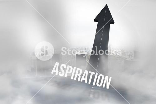 Aspiration against road turning into arrow