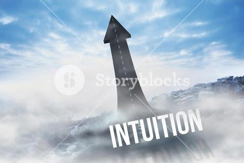 Intuition against road turning into arrow