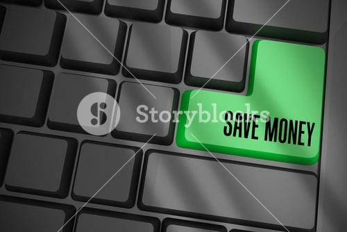 Save money on black keyboard with green key