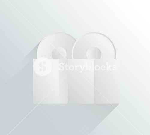 White and grey locks in simple design
