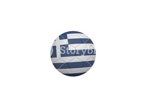 Football in greece colours