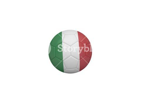 Football in italy colours