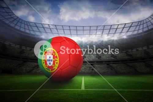 Football in portugal colours