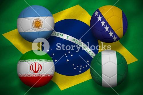 Group f footballs for world cup