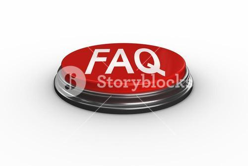 Faq against digitally generated red push button