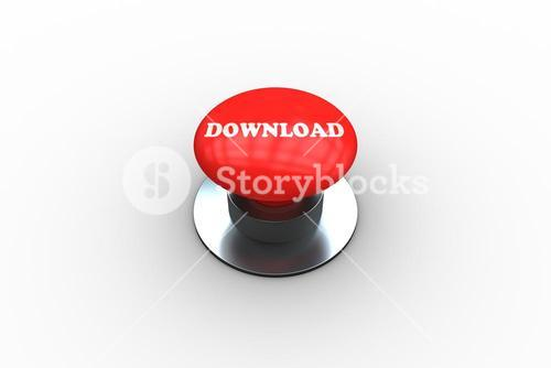 Download on digitally generated red push button