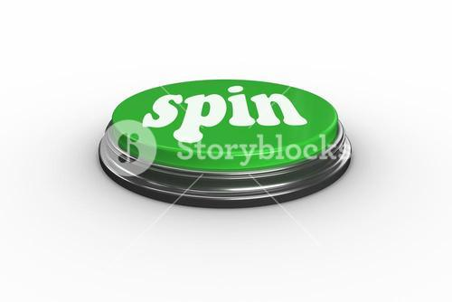 Spin on digitally generated green push button