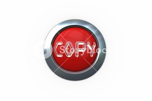 Copy on digitally generated red push button