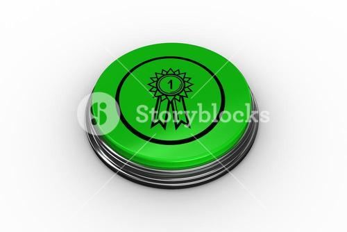 Composite image of first place graphic on button