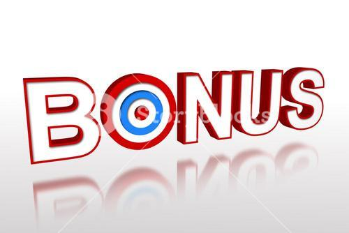 The word bonus with target