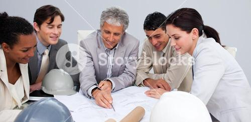 Constructors in a meeting studying plans