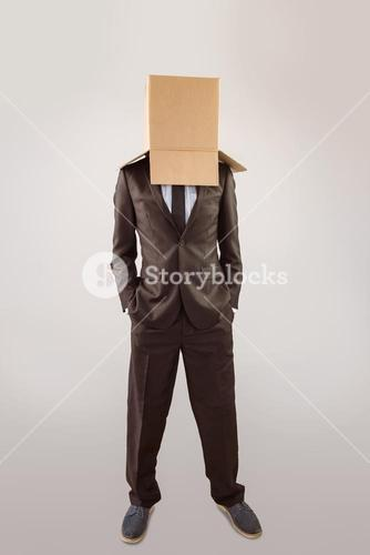Anonymous businessman with hands in pockets