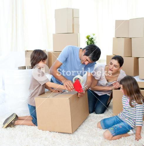 Jolly Family moving house