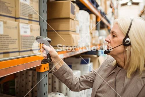 Manager with headset scanning package