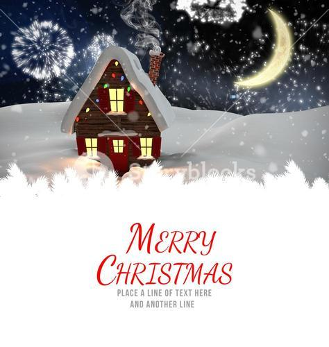 Composite image of merry christmas