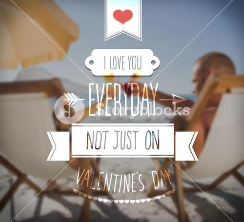 I love you everyday valentines vector