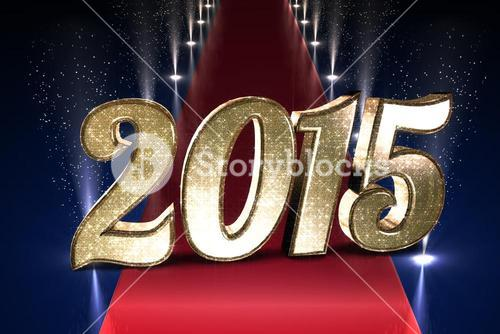 Composite image of sparkly 2015