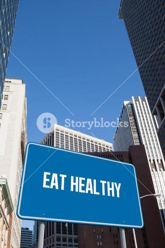 Eat healthy against new york