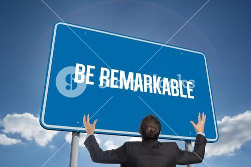 Be remarkable against cloudy sky with sunshine