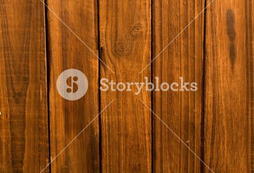 Overhead of wooden planks
