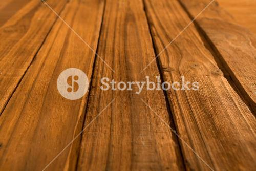 High angle of wooden planks