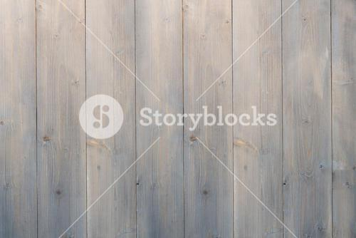Pale grey wooden planks