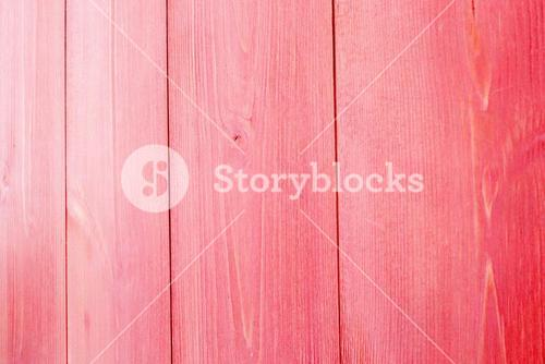Faded red wooden planks