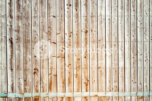 Faded pine wooden planks