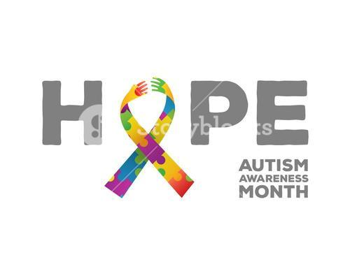 Autism awareness design vector