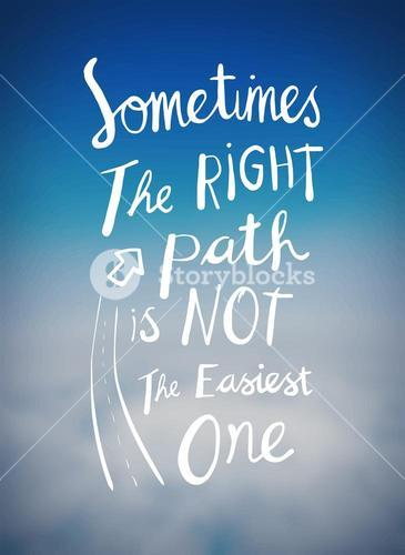 Right path message vector