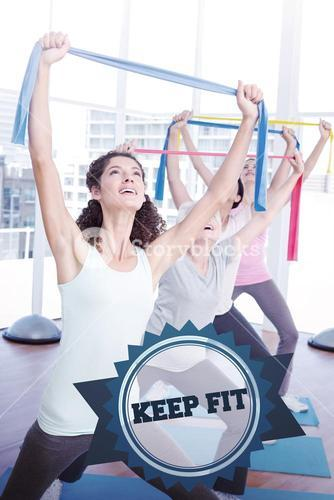 Keep fit against badge