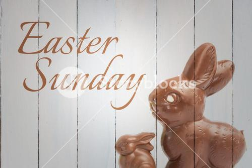 Composite image of easter sunday