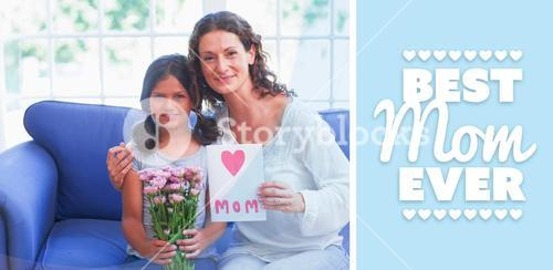 Composite image of best mom ever