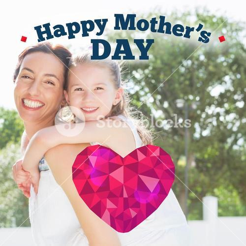 Composite image of happy mothers day