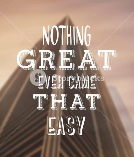 Motivational vector with text