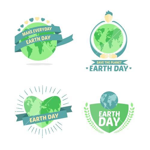 Earth day vectors