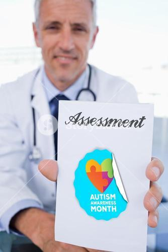 Assessment against autism awareness month