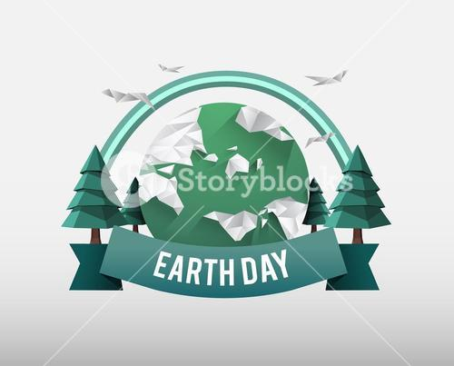 Earth day vector