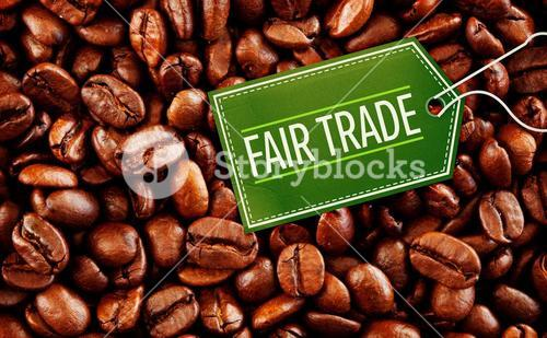 Composite image of fair trade
