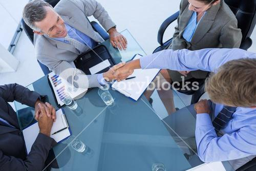 Business team during meeting
