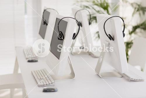 Computers and headsets