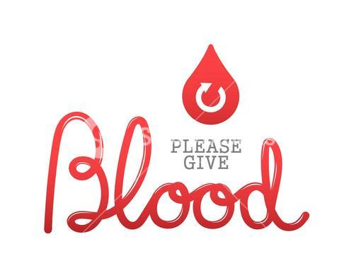 Please give blood vector