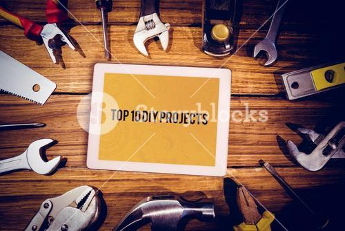 Top 10 diy projects against architecture themed background