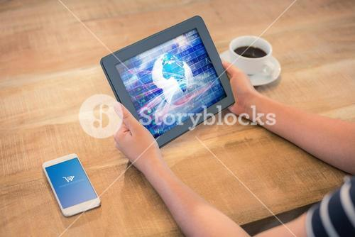 Composite image of payment successful screen