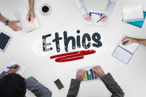 Ethics against business meeting