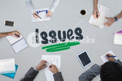 Issues against business meeting