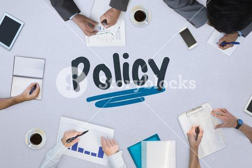 Policy against business meeting